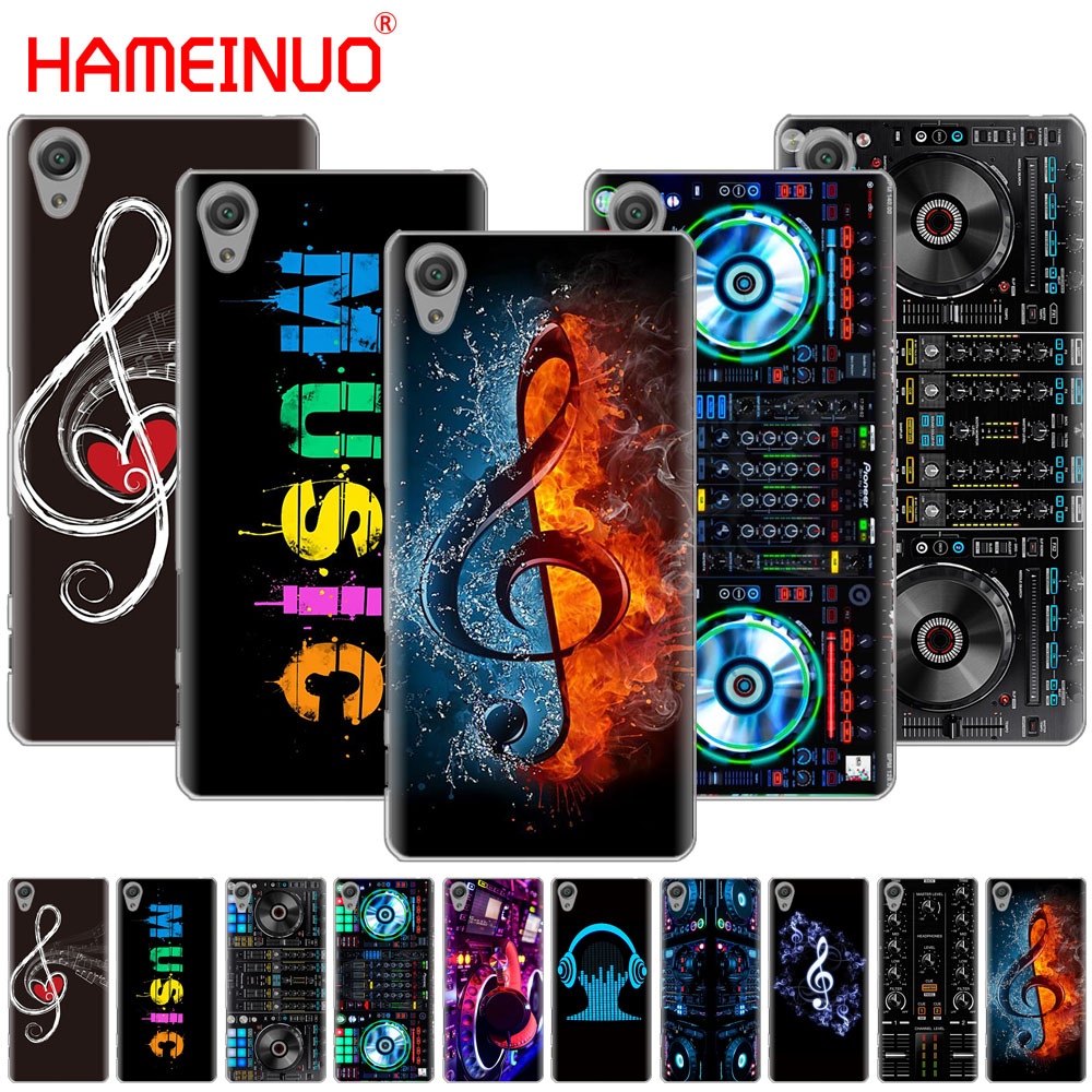 HAMEINUO ddj dj music Cover phone Case for sony xperia z2 z3 z4 z5 mini plus aqua M4 M5 E4 E5 E6 C4 C5