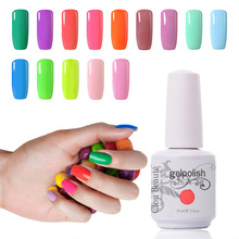 Premium Quality Clou Beaute 15ml Choose 1 Color Nail Gel Polish UV Gel Lacquer Soak-off Gel Nail UV Lamp Hot Sale Nail Polish