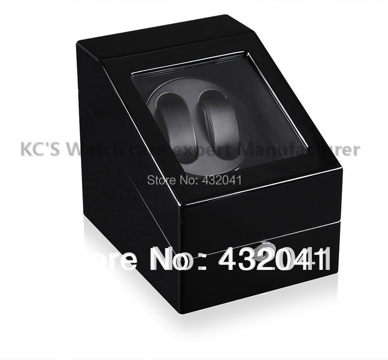 Quality Single Automatic Watch Winder Luxury Watch Display Case Storge Box Black Gift to Friend GC03-S24BB