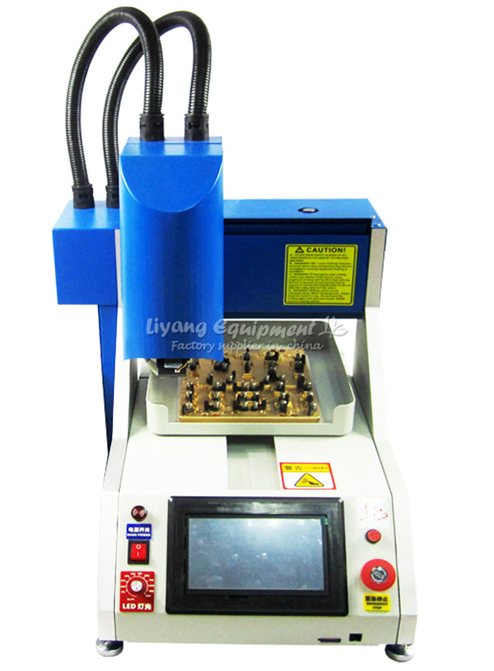 automatic iphone ic remove cnc router LY 1001 for iPhone 4, 4S, 5, 5S,6,6p and ipad