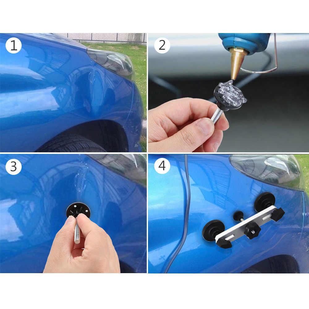 無塗装デントリペアツール自動デントプーラー吸引カップ車体デント損傷修復ハンドツール引っ張るブリッジハンマー