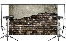 Fragrant Wall with Dim Brick Photo Background Child Wedding Studio Retro Photography 150x220cm