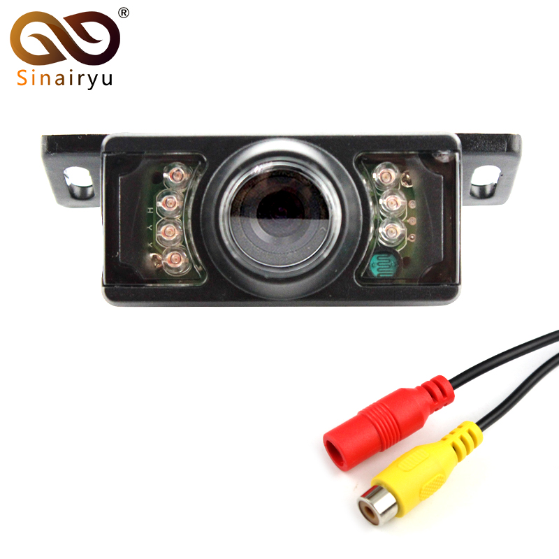 Wide Viewing Angle Waterproof Reversing Backup Camera IR LED Night Car Rear View Camera