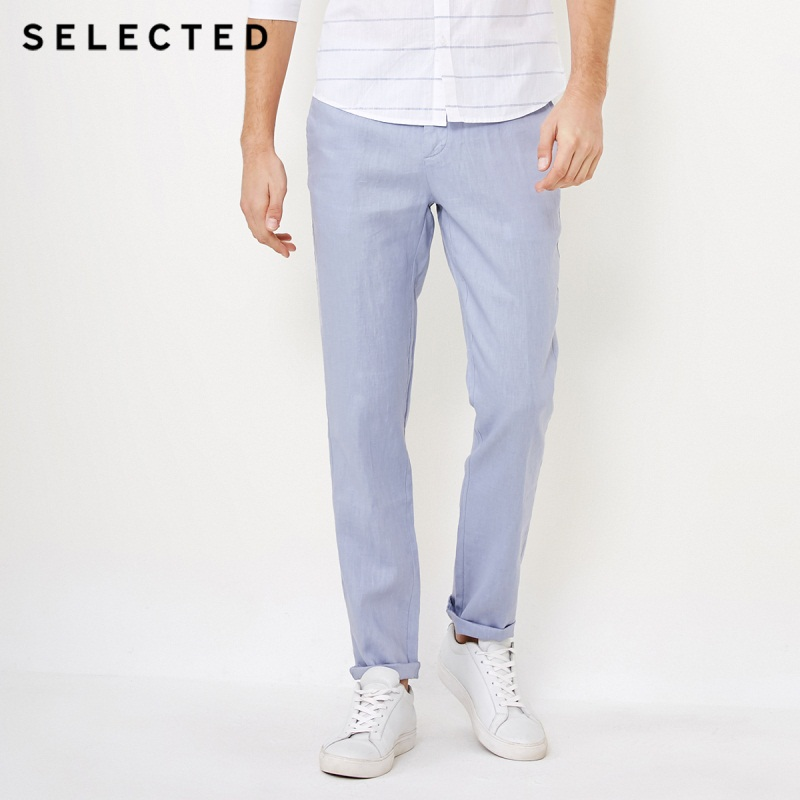 SELECTED blackrock s winter new men s cultivate morality pure color leisure trousers S 418414538