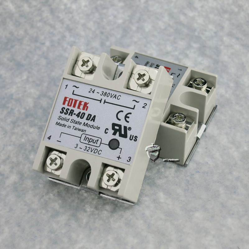 3PCS solid state relay dc 40 ssr 40a solid state relay single-phase input 3-32V DC output 24-380V AC free shipping mager 10pcs lot ssr mgr 1 d4825 25a dc ac us single phase solid state relay 220v ssr dc control ac dc ac