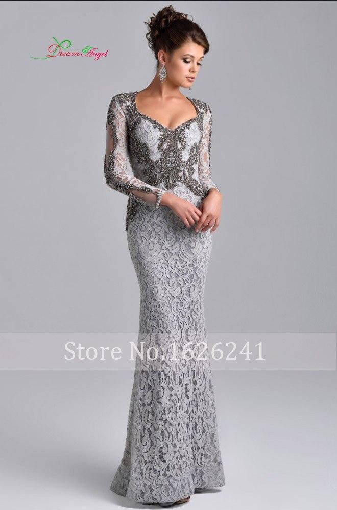 Popular Long Sleeves Elegant Formal Dress-Buy Cheap Long Sleeves ...