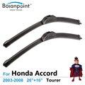 """Aerowiper Rascador Para Honda Accord Tourer 2003-2008 26 """"+ 16"""" Accesorio Del Coche para el Parabrisas BP-UV02"""