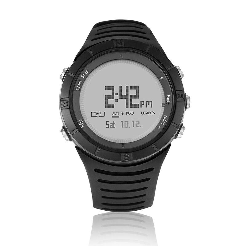 Spovan Digital Sport Smart Watch for Man Fitness Running Bracelet Black Wristwatch Military Quality Relojes Para