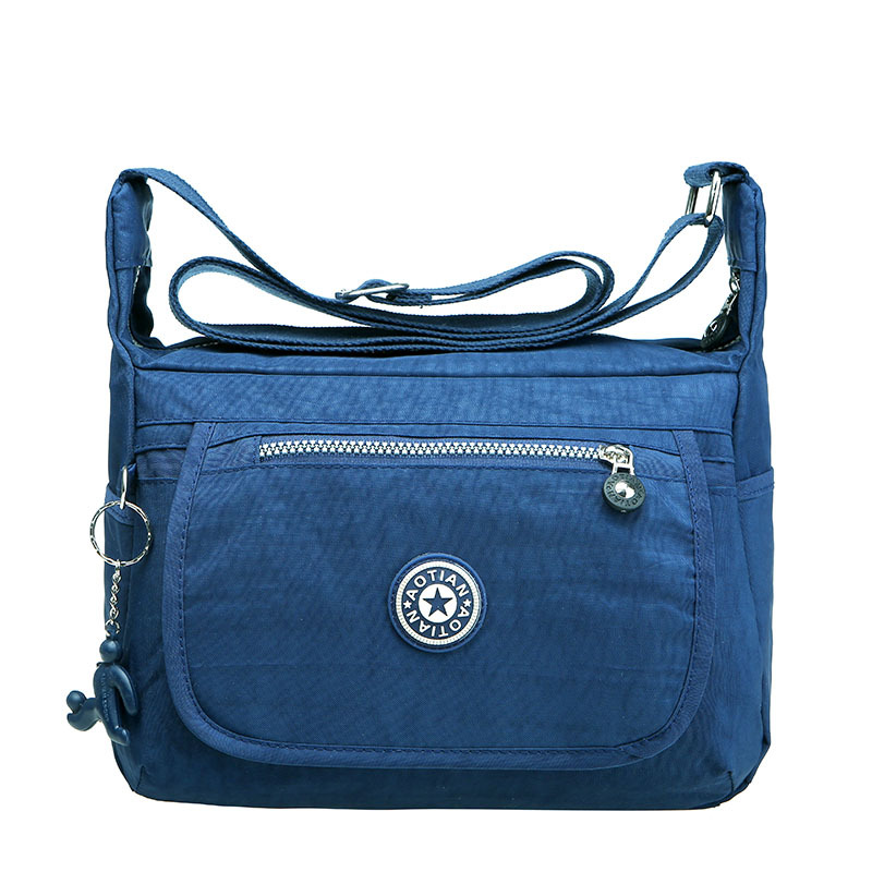 Simple Casual Lightweight Women Handbags Waterproof Nylon Messenger  Shoulder Bags Female Travel Crossbody Bags Brand Sac A Main 1df004c9e0e95