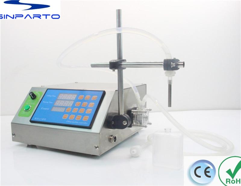 Sinparto GZL-80 Peristaltic Pump Liquid Filling Machine perfume Filler hot wax dosing machine CE RoHs