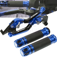 Motorcycle Brake Clutch Lever Extendable+Hand Grips Handlebar For BMW S1000RR S1000 RR S 1000RR S 1000 RR 2010 2014 2011 12 2013