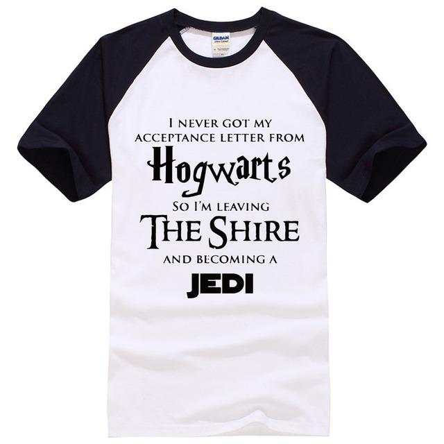 """Hogwarts The Shire"" Star War T-Shirts – 5 Colours"