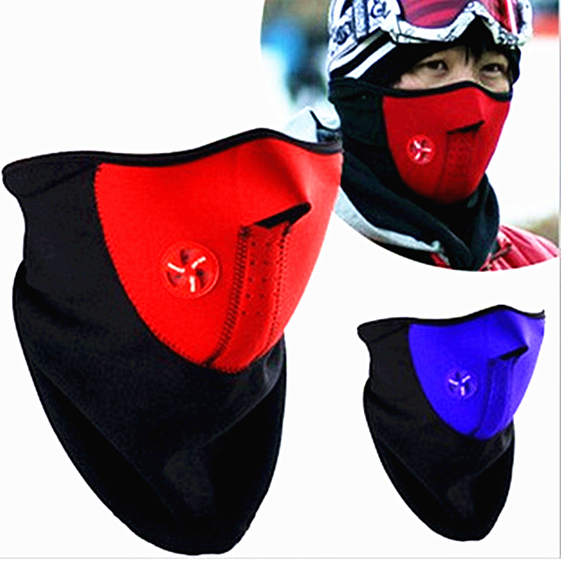 Neoprene Neck Warm Half Face Mask Winter Sport mask Windproof  Bike Bicycle cycling mask Ski Snowboard Outdoors masks dust