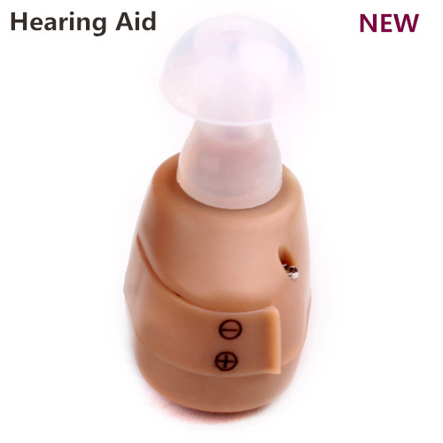 100% Brand new sound amplifier audiphone Easy Adjust In Ear Digital Hearing Aid Aids MINI Personal ear care Free shipping