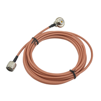 walkie talkie Coaxial Cable RG 142 Teflon ( 3) Feeder with N J(N Male)/SL16 K (SO239 F) Connector for yaesu ft 7900r,ft 8900r