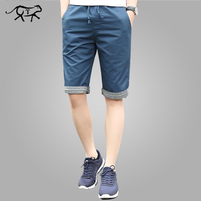 Sommer Shorts Männer Mode Baumwolle Heißer Verkauf Herren bermuda strand  Shorts Neue Marke Männlichen Casual Boardshorts b41238130c
