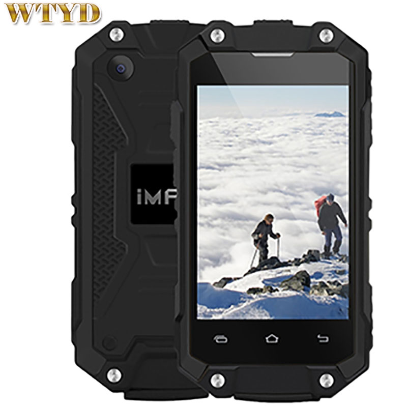 iMAN X2 Triple Proofing Phone 1GB+8GB IP65 Waterproof Dustproof Shockproof 2.45 inch Android 5.1 MTK6580 Quad Core up to 1.3GH