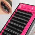Lash Extension, Eyelashes False Mink,silk Individual black professional B/C/D Curl fake eyelashes extension