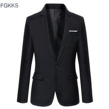 Venda quente Nova Chegada de Moda Blazer Mens Jaqueta Casual Sólidos Homens De cor De Algodão Homens Jaqueta Blazer Clássico Mens Paletós casacos
