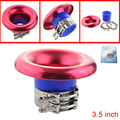 3.5'' Universal Aluminum Turbo Horn Charger Air Intake Funnel Air Inlet Turbo Inlet Horn Kit Draught