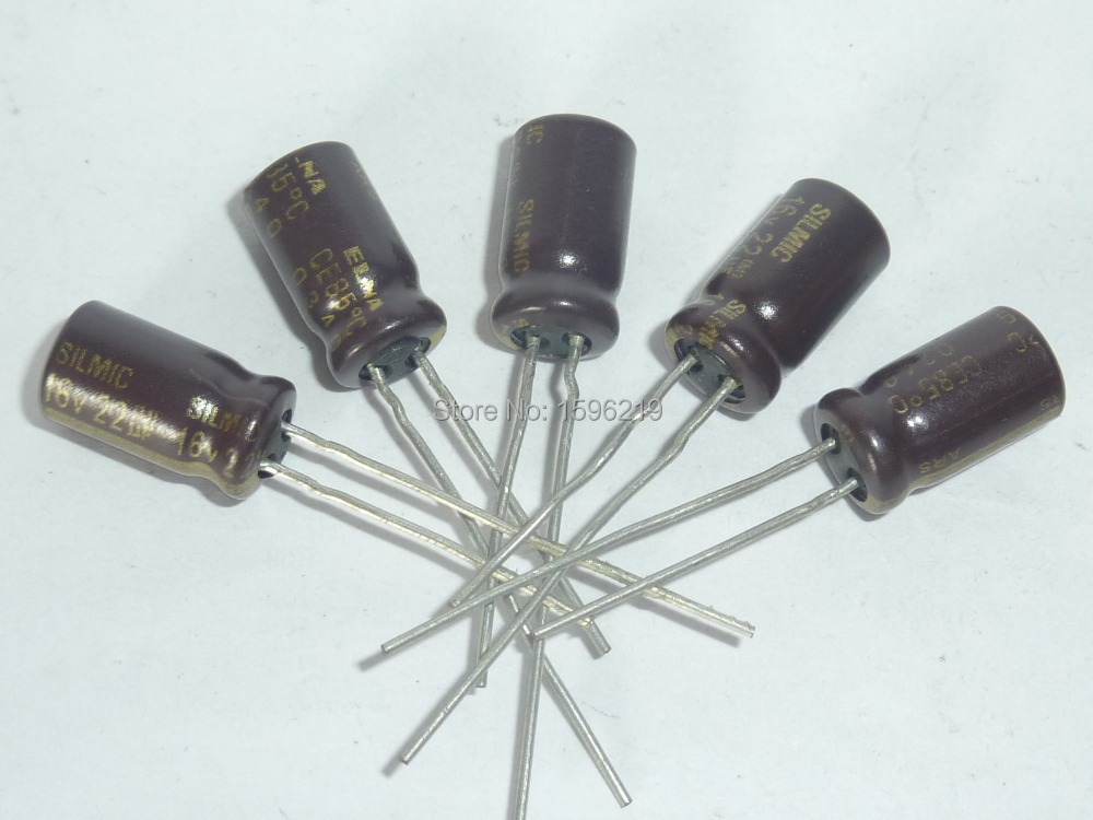 10pcs 22uF 16V ELNA ARS Series 6.3x11mm 16V22uF SILMIC AUDIO Capacitor