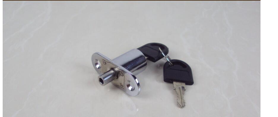Hot sales! 50pcs/lot! high quality desk drawer wardrobe lock,copper key , cabinet locks, furniture locks