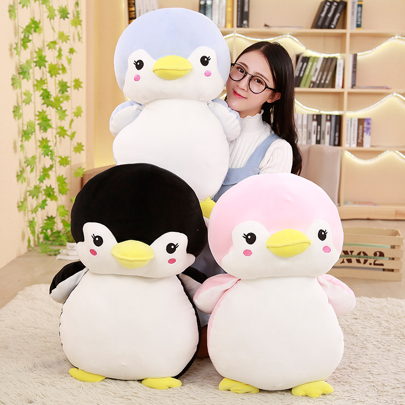 """/""""Stuffed Girl Penguin Plush Soft Animal Toy for Babies and Children New"""