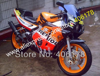 Hot Sales,Injection Fairing For Honda CBR250R 90 94 CBR250 MC22 1990 1994 CBR 250R MC22 Repsol Body Kits (Injection molding)