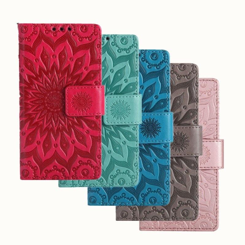 Flip PU Leather+Wallet Case For Google Pixel Sun Flower Embossed Cover For Google Pixel Case Phone Fundas