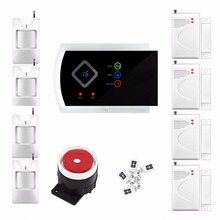 99 Wireless & 2 Wired Zones G10A GSM SMS Home House Security Alarm System Android APP Control PIR DOOR Alarm Sensor