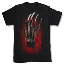 FREDDY KRUEGER GLOVE T SHIRT NIGHTMARE HORROR Harajuku Tops t shirt Fashion Classic Unique free shipping