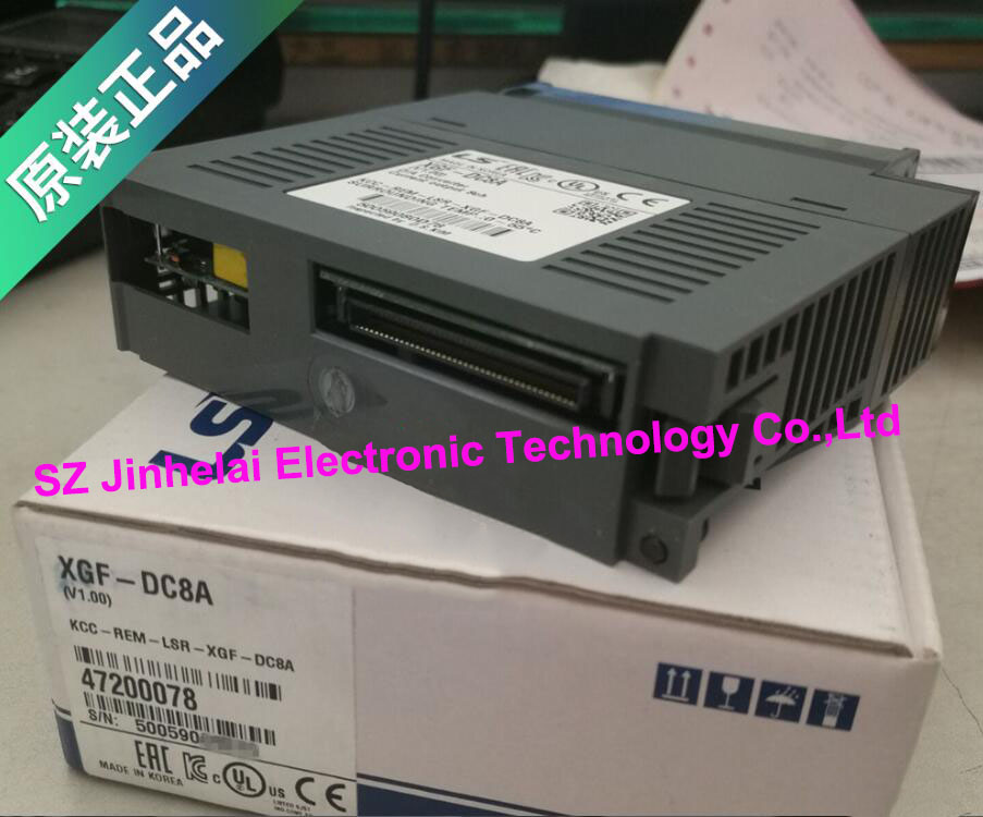 100% New and original  XGF-DC8A   LS(LG)  PLC  Special module Analog output module 100% new and original g6l eufb ls lg plc communication module e net open type fiber optic