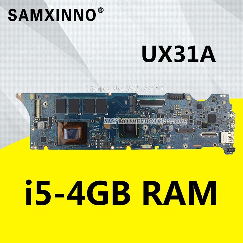 все цены на UX31A for ASUS UX31A UX31A2 Laptop motherboard UX31A i5-3317U Processor 4 g RAM rev4.1 UX31A board Tests онлайн