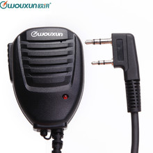 Original Wouxun Handheld Microphone Speaker MIC for Wouxun KG UVD1P KG UV6D KG UV8D KG UV899 KG UV9D PLUS Walkie Talkie HamRadio