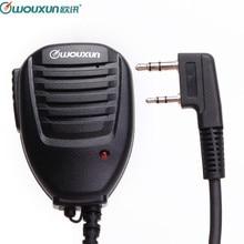 Original Wouxun มือถือไมโครโฟนลำโพง MIC สำหรับ Wouxun KG UVD1P KG UV6D KG UV8D KG UV899 KG UV9D PLUS Walkie Talkie HamRadio
