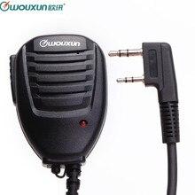 Originale Wouxun Portatile Altoparlante Mic Microfono per Wouxun KG UVD1P KG UV6D KG UV8D KG UV899 KG UV9D Plus. Walkie Talkie Hamradio