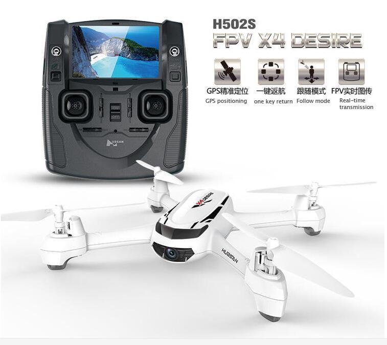 Quadricoptère de Drone kvadrokopter FPV d'origine HUBSAN H502S