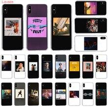 Lavaza Rap hip hop singer art design Hard Phone Case for Apple iPhone 6 6s 7 8 Plus X 5 5S SE XS Max XR Cover