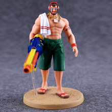 Anime Game Character Birthday gift Pool Party Graves the Outlaw 18cm pvc action figure game character kids model toys hot sale
