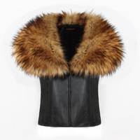 Women High grade Fox Fur Vest MT0070
