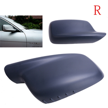 Left Side  Rearview Mirror Cover Door Side Wing Caps Case For BMW E46 E65 E66 323 328 330 745 750 760 Car Styling //