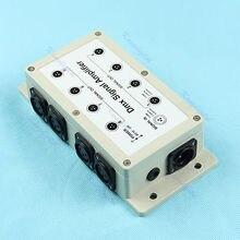 OOTDTY 8 Canales de Salida DMX DMX512 LED Amplificador de la Señal Del Divisor de Distribuidor