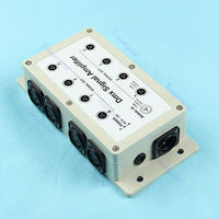 J34 8 Channel Output DMX DMX512 LED Controller Signal Amplifier Splitter Distributor