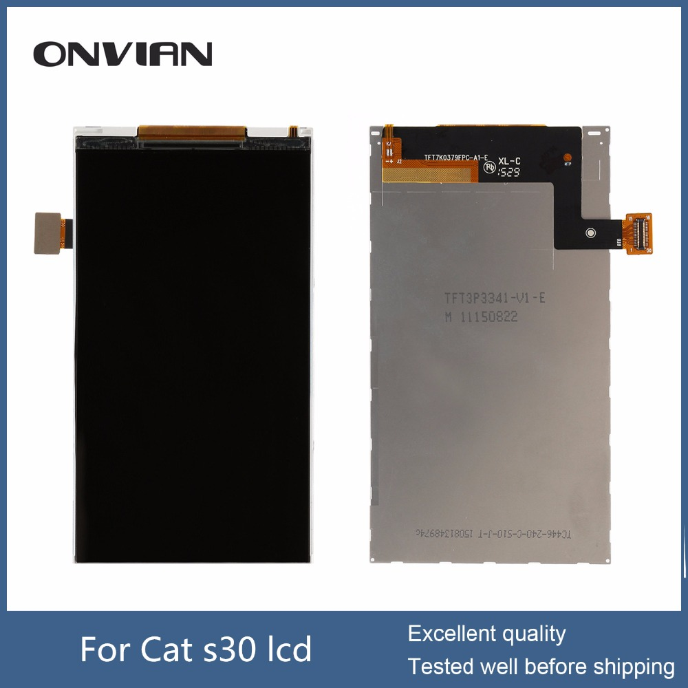 Cat s30 LCD display digitizer for (not touch screen ) with wholesale smartphone parts with warranty