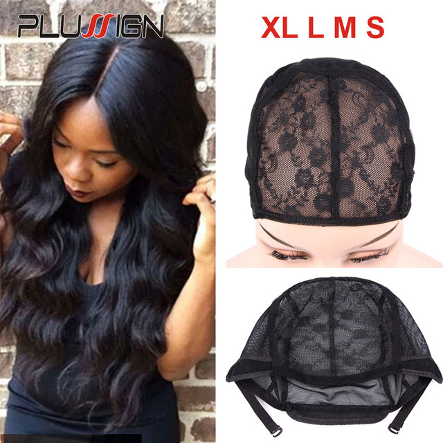 Plussign Best Double Lace Wig Caps For Making Wigs With Adjustable