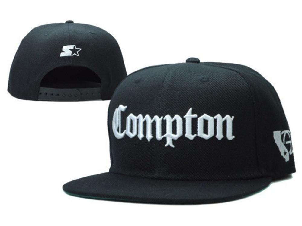 Ssur COMPTON Snapback capsula los sombreros para hombres mujeres arranque  hueso VOGUE gorra de béisbol hip hop deportes 5 panel del sombrero del sol  gorras ... 7ec6ae2a256