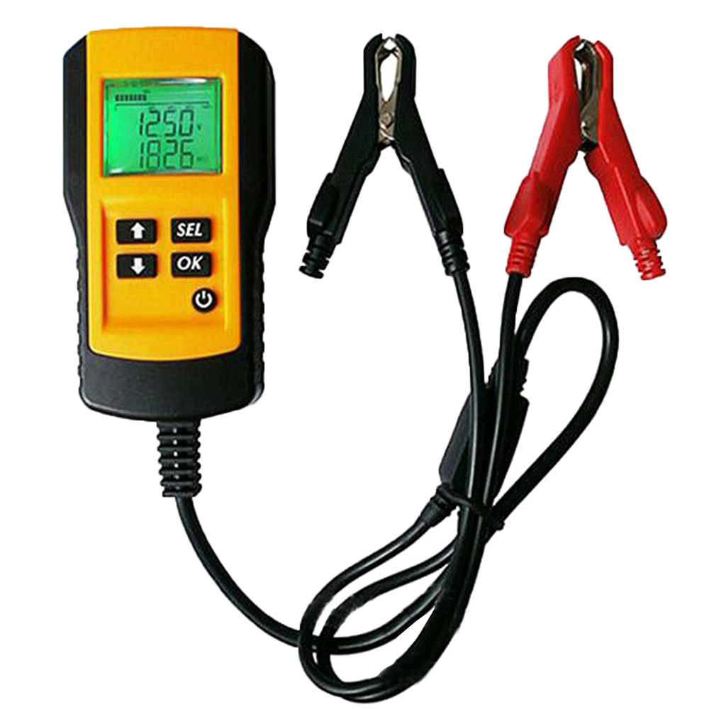 HOT 12VCar <font><b>Battery</b></font> Tester Vehicle <font><b>Car</b></font> Nicd <font><b>Batteries</b></font> Capacity Tester Analyzer <font><b>Diagnostic</b></font> <font><b>Tool</b></font> With Backlight Power Supply Tester image