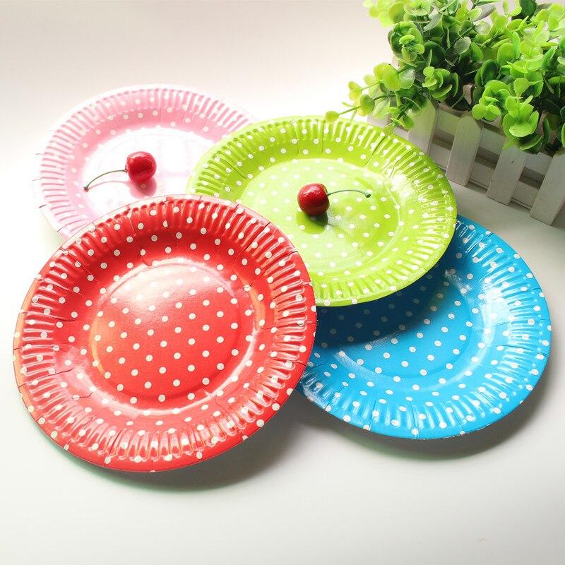 одноразовые тарелки для сторон