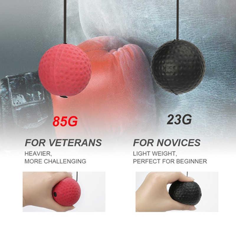 Boksen Ponsen Apparatuur Strijd bal Boxeo Training Accessoires lomachenko Speed Bal Muay Thai Trainer Snelle Reactie Bal