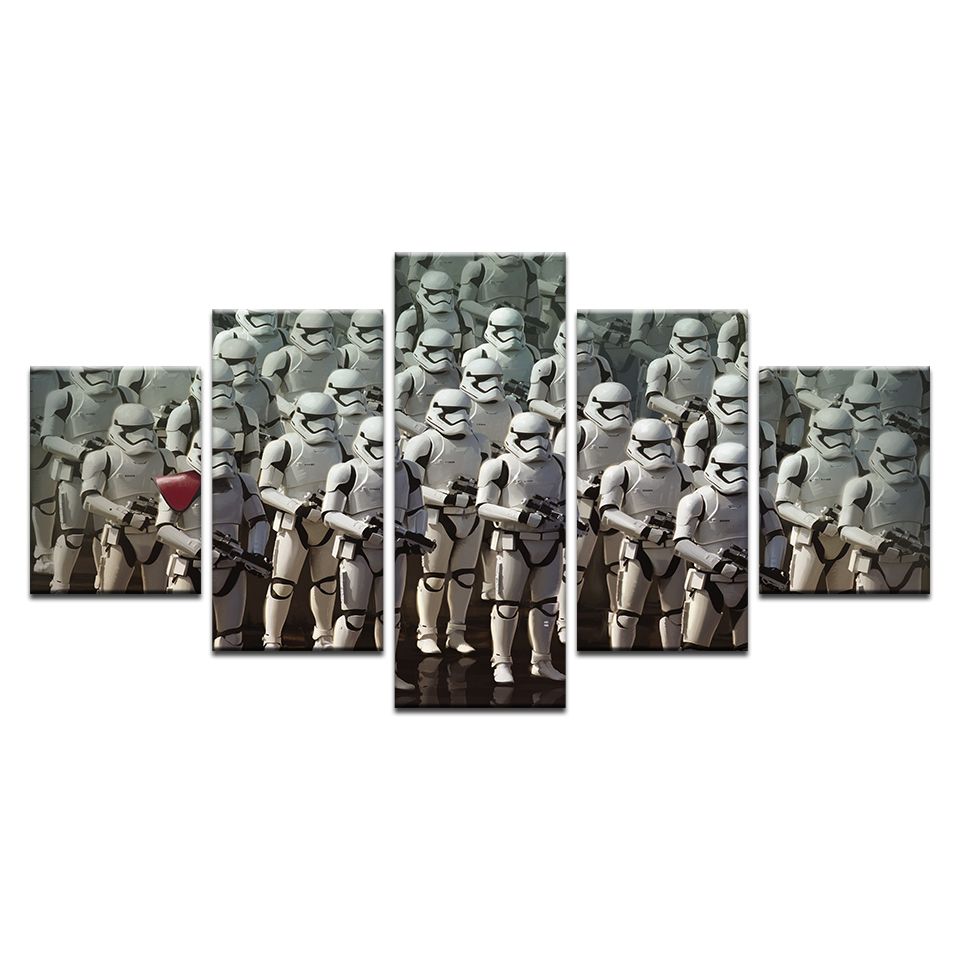 Imperial Stormtrooper Modern Home Wall Decor Canvas
